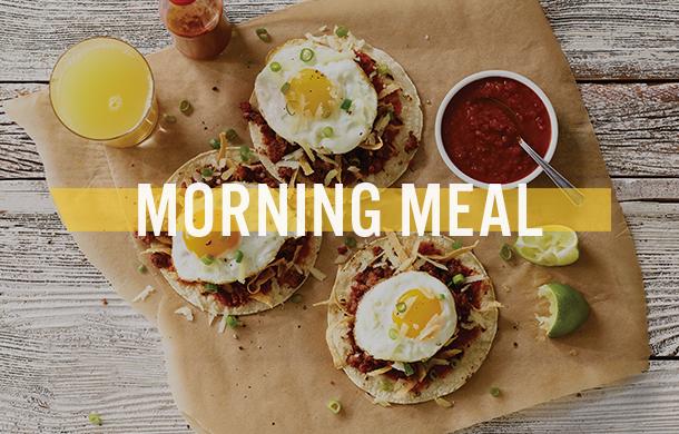 Morning Meal Breakfast & Brunch