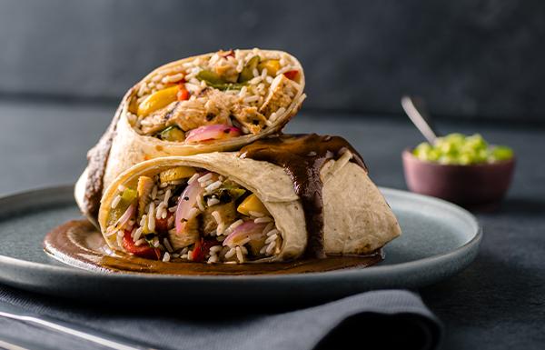 Peruvian Grilled Chicken Quinoa Burrito